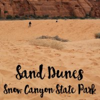 Sand Dunes | Snow Canyon State Park | St. George, Utah