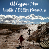 Old Gypsum Mine | Sparkle Mountain | Arizona Border