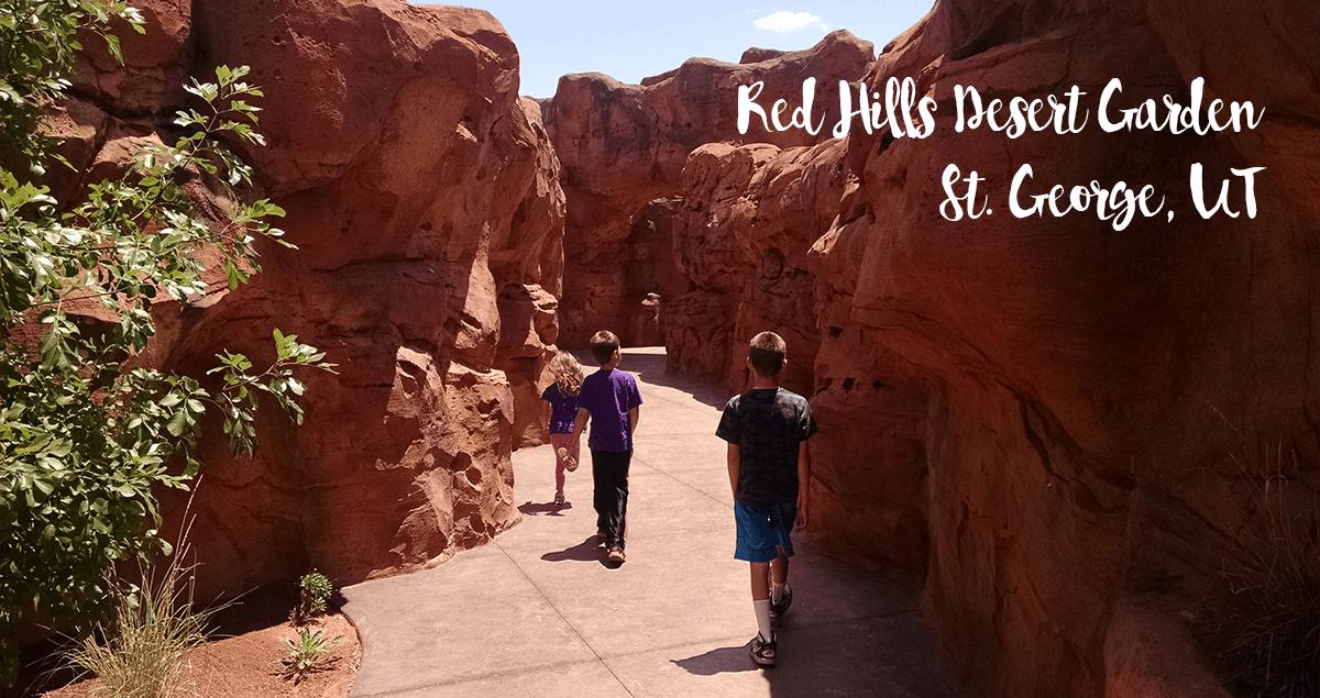 Red Hills Desert Garden St George Utah Outdoor Family