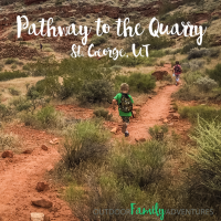 Pathway to the Quarry | Sandstone Quarry | St. George, UT