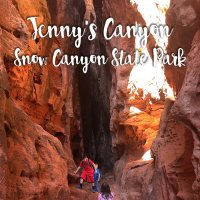 Jenny's Canyon | Snow Canyon State Park | St. George, UT