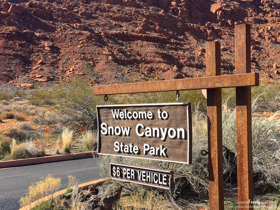 Jenny's Canyon Snow Canyon State Park St. George UT