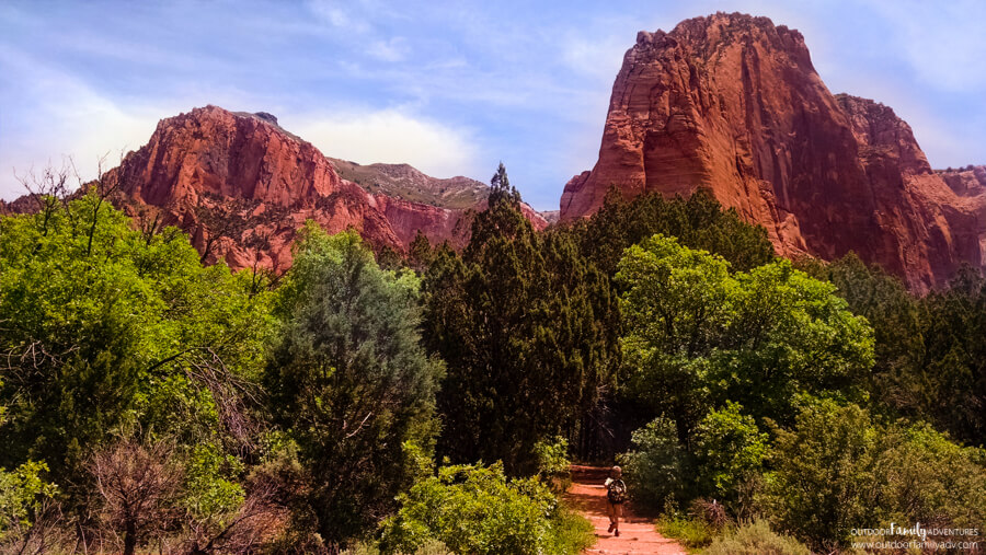 Taylor Creek Trail Kolob Canyons Zion National Park Outdoor