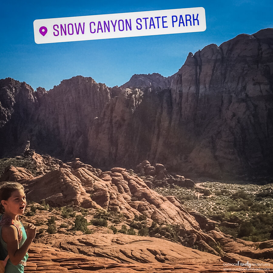 Snow Canyon State Park - Outdoor Family