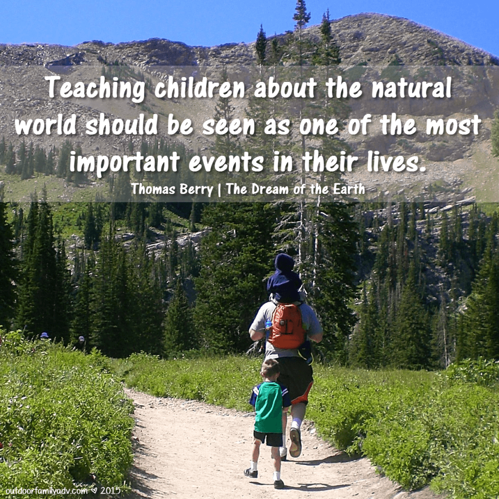 Teach Your Kids About Outdoors