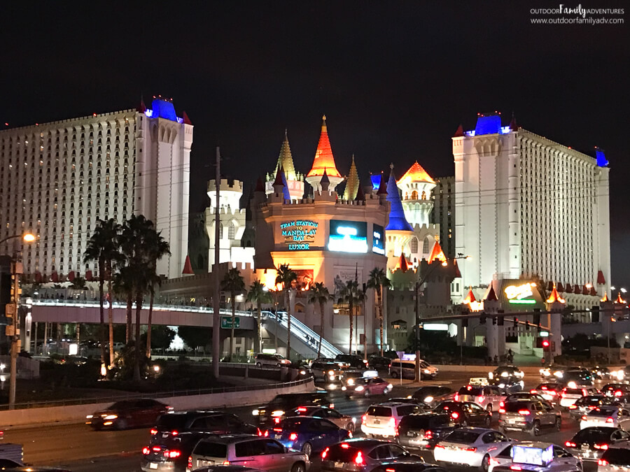 Visiting The Las Vegas Strip With Kids Outdoor Family Adventures