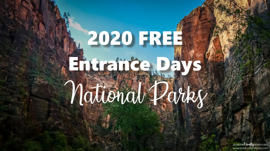 days you can enter national parks in the united states for free